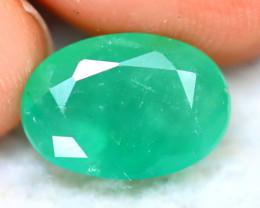 Emerald 2.89Ct Natural Zambia Green Emerald D2710/A38