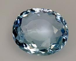 4.46CT NATURAL BLUE AQUAMARINE IGCSAA10