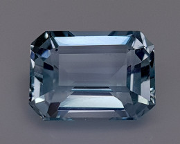 2.87CT NATURAL BLUE AQUAMARINE IGCSAA17