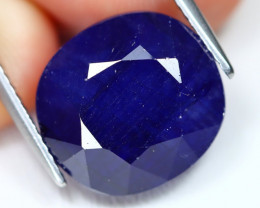 Blue Sapphire 15.35Ct Oval Cut Royal Blue Sapphire A2609