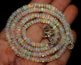 41 Crts Natural Ethiopian Welo Opal Necklace 137