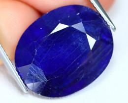 Blue Sapphire 15.65Ct Oval Cut Royal Blue Color Sapphire B2607