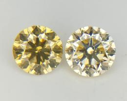0.40 CT , Round Natural Diamonds , VS SI , 2 Diamonds