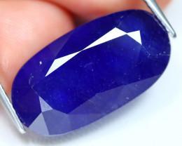 Blue Sapphire 25.80Ct Oval Cut Royal Blue Color Sapphire C2604