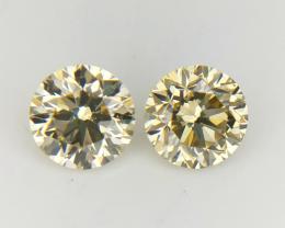 Diamond Pair , 0.57 Ct , Natural Diamond Pairs ,Diamonds For Jewelry