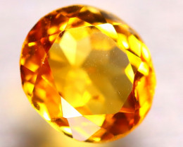 Citrine 3.36Ct Natural Golden Yellow Color Citrine E2801/A2