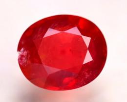 Ruby 5.65Ct Madagascar Blood Red Ruby E2803/A20