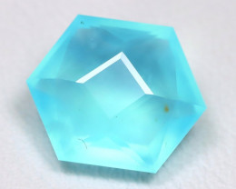 Paraiba Opal 2.15Ct Mastre Cut Natural Peruvian Blue Opal C2701