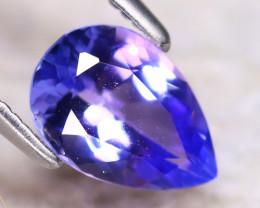 Tanzanite 1.10Ct Natural VVS Purplish Blue Tanzanite EF2819/D3