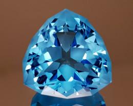 25.98CT NATURAL BLUE TOPAZ PRECISION CUT IGCTPP10