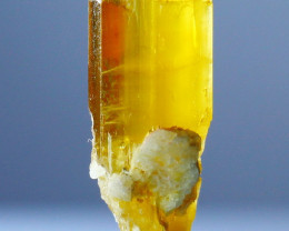 9.50 CTs Natural - Unheated Yellow Heliodor Crystal