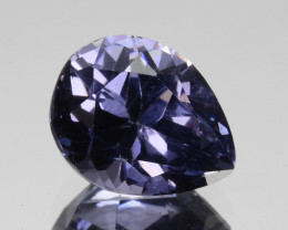 ~COBALT BLUE~ 1.59 Cts Natural Blue Spinel Pear Cut Sri Lanka