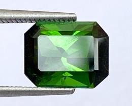 2.89Ct Tourmaline Amazing Cut Sparkiling Luster Quality Gemstone. TMF 13