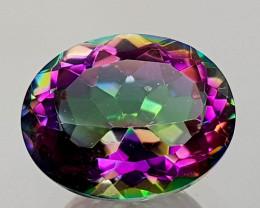 2.48Crt Mystic Quartz Natural Gemstones JI13