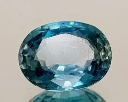 2.69Crt Blue Zircon Natural Gemstones JI13