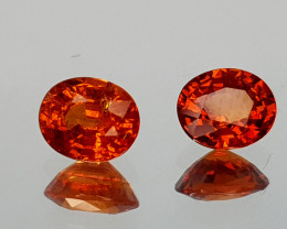 1.33Crt Spessartite Garnet Natural Gemstones JI13