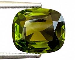 1.96Ct Tourmaline Amazing Cut Sparkiling Luster Quality Gemstone. TMF 15