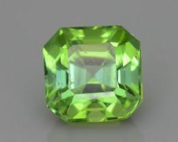 Apple Green 1.27 ct Afghan Tourmaline Sku-40