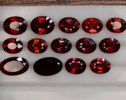 Fanta Color 22.0 ct Natural Rare Orange Garnet ~ Spessartite~LOT