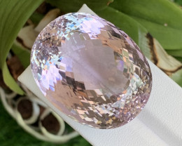169.62 Cts Rare Size Fine Quality Natural Kunzite Afghanistan