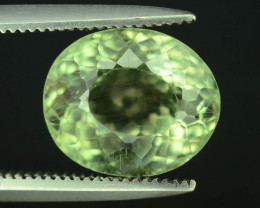 Great Luster 3.30  ct Green Apatite ~ T