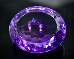 54.50 Crt Natural Amethyst Faceted Gemstone.( AB 31)