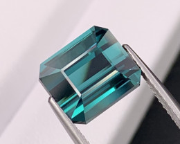 7.00 Cts Top Quality Seafoam Blue Color Natural Tourmaline Flawless