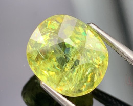 4.93 Cts Amazing Fire Fine Quality Natural Sphene Exquisite Color
