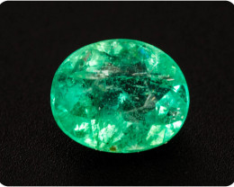 Emerald  0.30 ct Etiophia GPC Lab