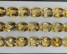101.50 ct Citrine  Gemstones Parcel / 21 pc