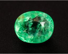 Emerald  0.38 ct Etiophia GPC Lab