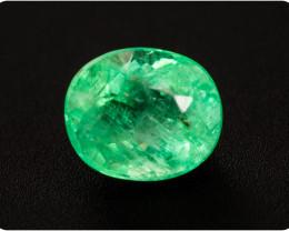 Emerald  0.46 ct Etiophia GPC Lab