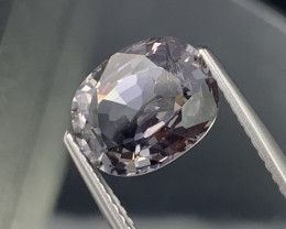 3.11 Cts Burma AAA Grade Pastel Gray Spinel Untreated
