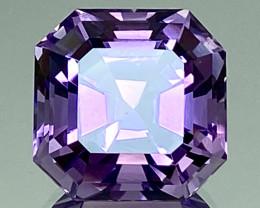 19.38Ct Amethyst Excellent Asscher Cut Top Quality Gemstone.ATF 41
