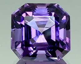 9.04Ct Amethyst Excellent Asscher Cut Top Quality Gemstone.ATF 42