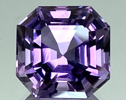 12.29Ct Amethyst Excellent Asscher Cut Top Quality Gemstone.ATF 44