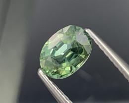 1.21 Cts Top Quality Pistachio Green Natural Sapphire Good Luster