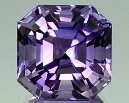 11.61Ct Amethyst Excellent Asscher Cut Top Quality Gemstone.ATF 45