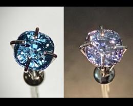 Rare! Gorgeous! Unheated Tri Color Change Sapphire