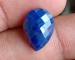 SAPPHIRE BLUE ROSE CUT GENUINE GEMSTONE VA449