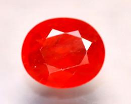 Sapphire 2.17Ct Natural Reddish Orange Sapphire D2904/A38
