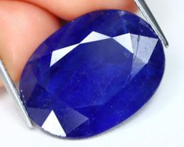 Blue Sapphire 22.26Ct Oval Cut Royal Blue Color Sapphire A2803