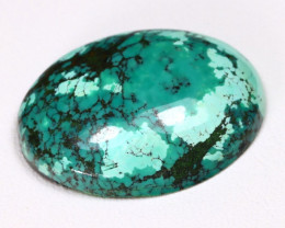 Turquoise 18.75Ct Natural Green Color Tibetan Turquoise A2805