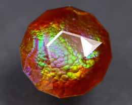 Fire Agate 5.23Ct Master Cut Natural Mexican Fire Agate A2806