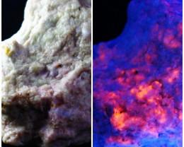 1440.50 ct Rare Combination of Tenebresent Purple Hackmanite