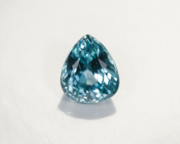 4.99ct Lab Certified Blue Cambodian Zircon