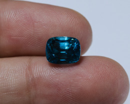 5.35ct Lab Certified Blue Cambodian Zircon
