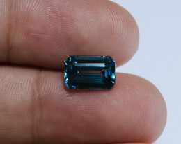 4.04ct Lab Certified Blue Cambodian Zircon