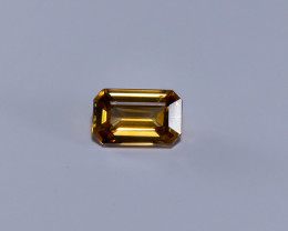 3.20ct. Lab Certified Yellow Cambodian Zircon