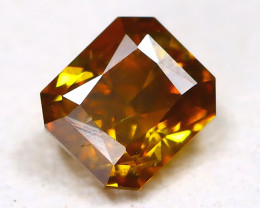 Yellowish Orange Diamond 0.20Ct Natural Untreated Fancy Diamond C2801